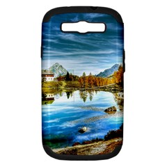Dolomites Mountains Italy Alpin Samsung Galaxy S Iii Hardshell Case (pc+silicone)