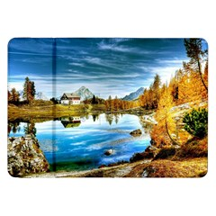 Dolomites Mountains Italy Alpin Samsung Galaxy Tab 8 9  P7300 Flip Case