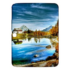 Dolomites Mountains Italy Alpin Samsung Galaxy Tab 3 (10 1 ) P5200 Hardshell Case