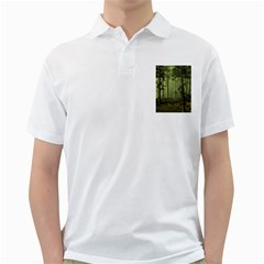 Forest Tree Landscape Golf Shirts