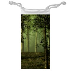 Forest Tree Landscape Jewelry Bag