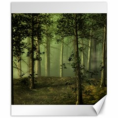 Forest Tree Landscape Canvas 8  X 10