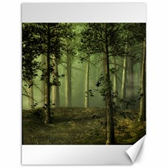 Forest Tree Landscape Canvas 12  X 16