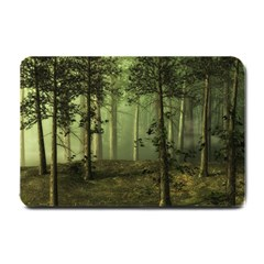 Forest Tree Landscape Small Doormat