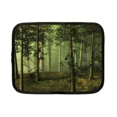 Forest Tree Landscape Netbook Case (small)