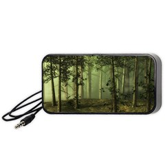 Forest Tree Landscape Portable Speaker