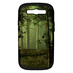 Forest Tree Landscape Samsung Galaxy S Iii Hardshell Case (pc+silicone)