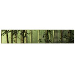 Forest Tree Landscape Large Flano Scarf