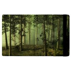 Forest Tree Landscape Apple Ipad Pro 9 7   Flip Case by Simbadda