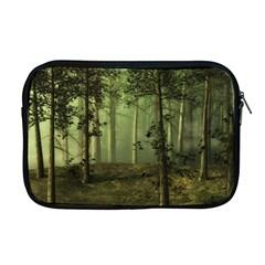 Forest Tree Landscape Apple Macbook Pro 17  Zipper Case