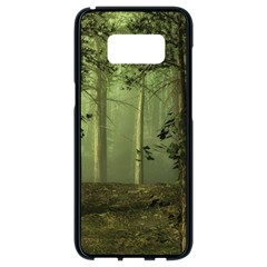 Forest Tree Landscape Samsung Galaxy S8 Black Seamless Case