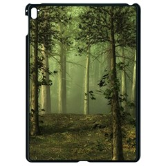 Forest Tree Landscape Apple Ipad Pro 9 7   Black Seamless Case