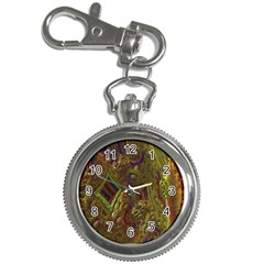 Fractal Virtual Abstract Key Chain Watches