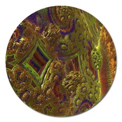 Fractal Virtual Abstract Magnet 5  (round)