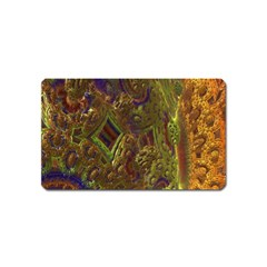 Fractal Virtual Abstract Magnet (name Card)