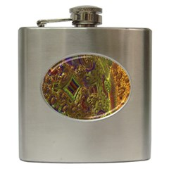 Fractal Virtual Abstract Hip Flask (6 Oz)