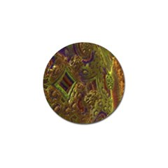 Fractal Virtual Abstract Golf Ball Marker (10 Pack)