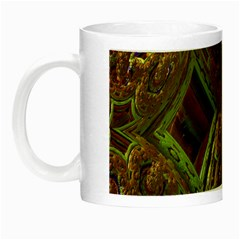 Fractal Virtual Abstract Night Luminous Mugs
