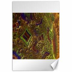 Fractal Virtual Abstract Canvas 20  X 30