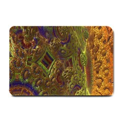 Fractal Virtual Abstract Small Doormat