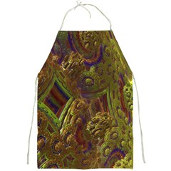 Fractal Virtual Abstract Full Print Aprons
