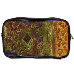 Fractal Virtual Abstract Toiletries Bags