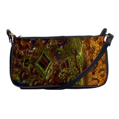Fractal Virtual Abstract Shoulder Clutch Bags