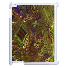 Fractal Virtual Abstract Apple Ipad 2 Case (white)