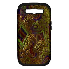 Fractal Virtual Abstract Samsung Galaxy S Iii Hardshell Case (pc+silicone)