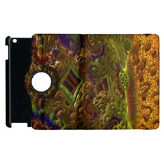 Fractal Virtual Abstract Apple Ipad 3/4 Flip 360 Case