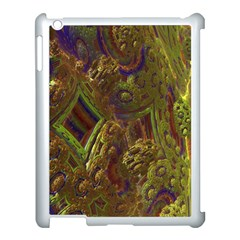 Fractal Virtual Abstract Apple Ipad 3/4 Case (white)