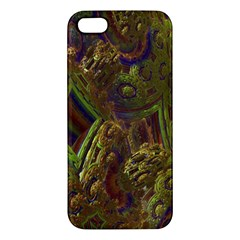 Fractal Virtual Abstract Apple Iphone 5 Premium Hardshell Case
