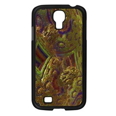 Fractal Virtual Abstract Samsung Galaxy S4 I9500/ I9505 Case (black)