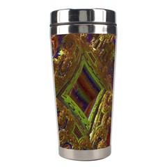 Fractal Virtual Abstract Stainless Steel Travel Tumblers