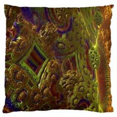 Fractal Virtual Abstract Standard Flano Cushion Case (one Side)