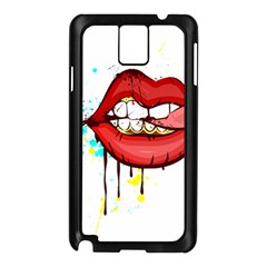 Bit Your Tongue Samsung Galaxy Note 3 N9005 Case (black)