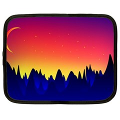 Night Landscape Netbook Case (xxl)