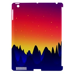 Night Landscape Apple Ipad 3/4 Hardshell Case (compatible With Smart Cover)