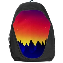 Night Landscape Backpack Bag