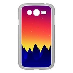 Night Landscape Samsung Galaxy Grand Duos I9082 Case (white)