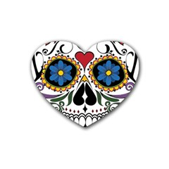 Cranium Sugar Skull Heart Coaster (4 Pack)