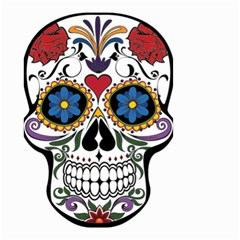 Cranium Sugar Skull Small Garden Flag (two Sides) by sherylchapmanphotography