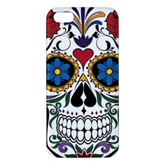 Cranium Sugar Skull Apple Iphone 5 Premium Hardshell Case