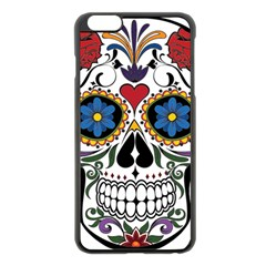 Cranium Sugar Skull Apple Iphone 6 Plus/6s Plus Black Enamel Case