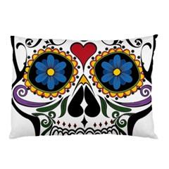 Cranium Sugar Skull Pillow Case