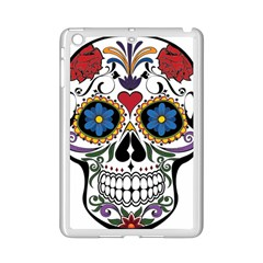 Cranium Sugar Skull Ipad Mini 2 Enamel Coated Cases