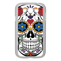 Cranium Sugar Skull Samsung Galaxy Grand Duos I9082 Case (white)