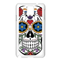 Cranium Sugar Skull Samsung Galaxy Note 3 N9005 Case (white)