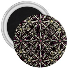 Dark Tropical Pattern 3  Magnets