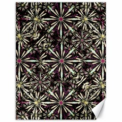Dark Tropical Pattern Canvas 18  X 24   by dflcprints